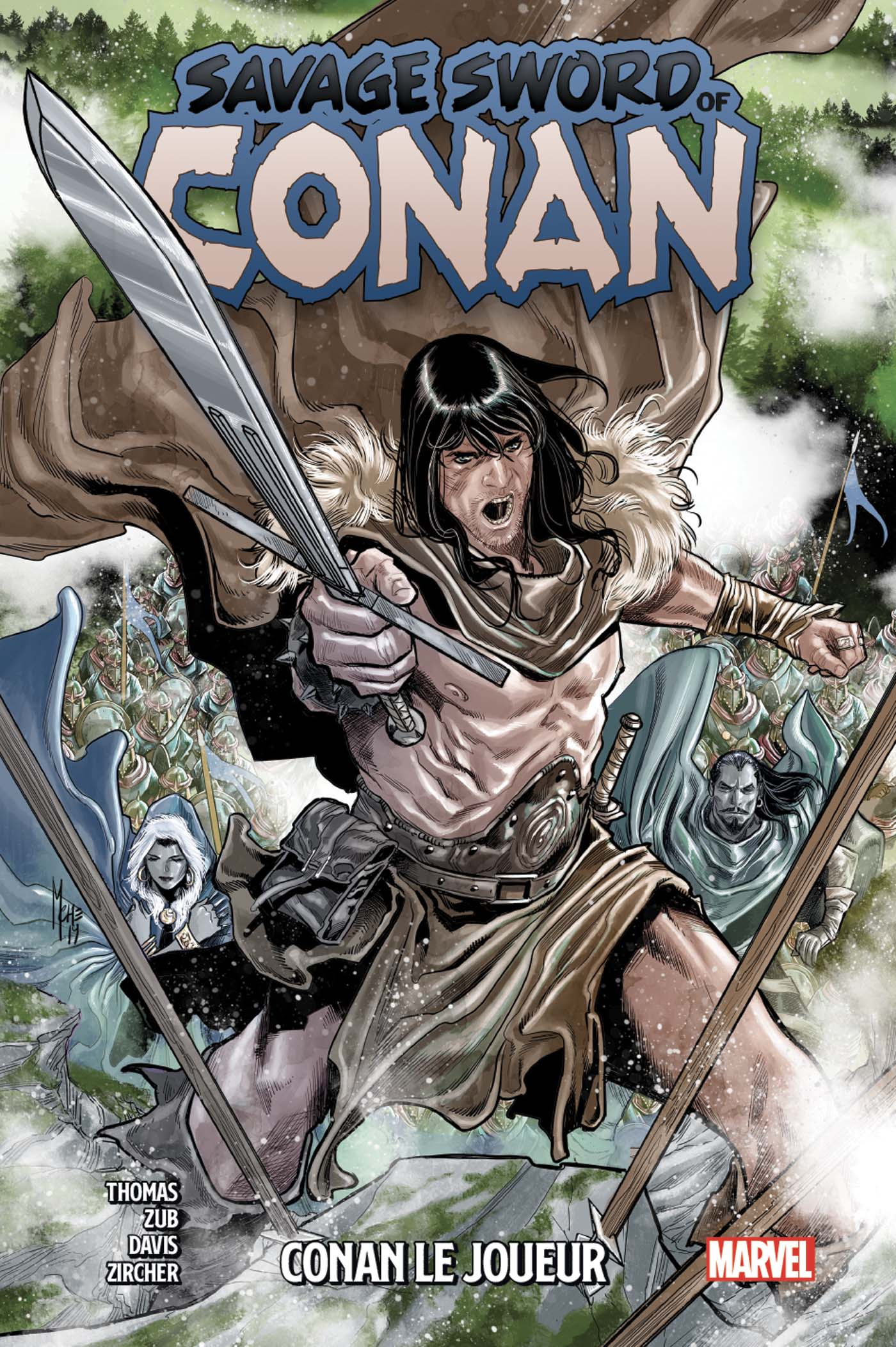 SAVAGE SWORD OF CONAN TOME 2 (VF)