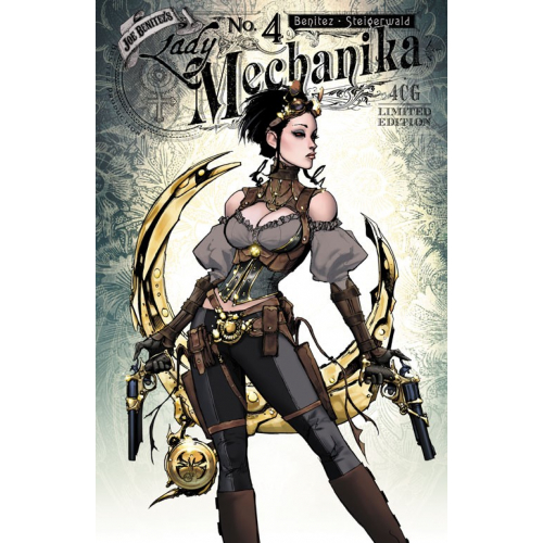 CARTE POSTALE LADY MECHANIKA - SERIE 1 - LM003