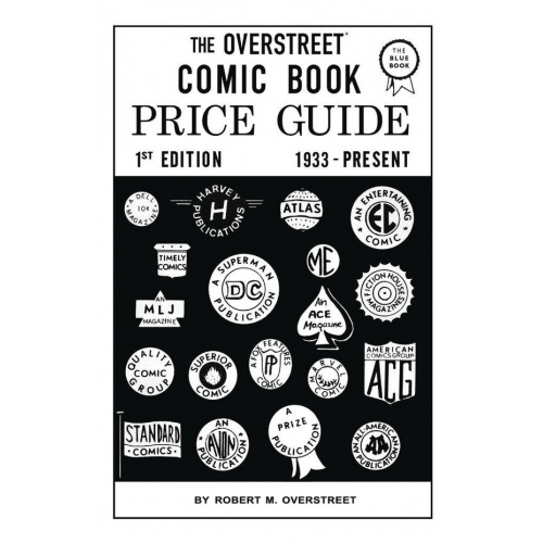 OVERSTREET COMIC BOOK PRICE GUIDE 1 FACSIMILE ED HC