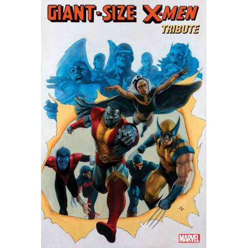 GIANT SIZE X-MEN TRIBUTE WEIN COCKRUM 1 (VO)