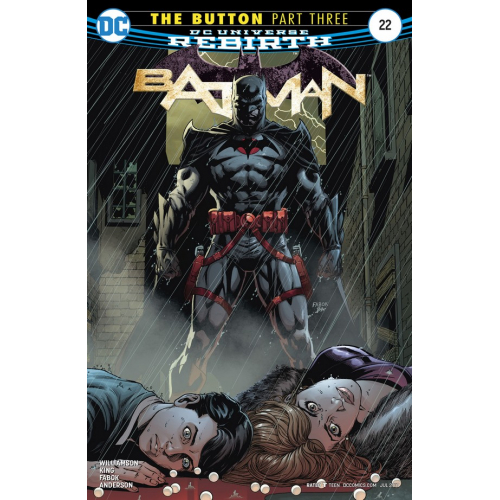 Batman 22 The Button Part 3 (VO)