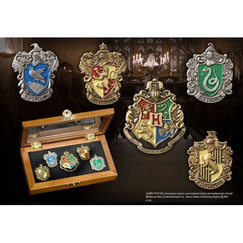 Harry Potter collection de pins Maisons de Poudlard