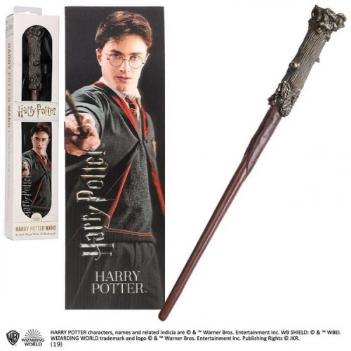 Harry Potter réplique baguette PVC Harry Potter 30 cm