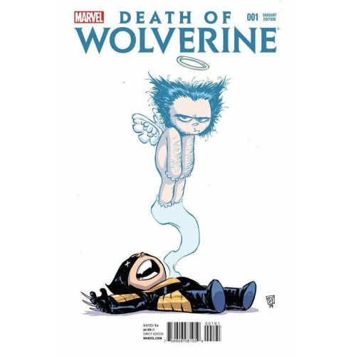 Death of Wolverine 1 Young Variant (VO)