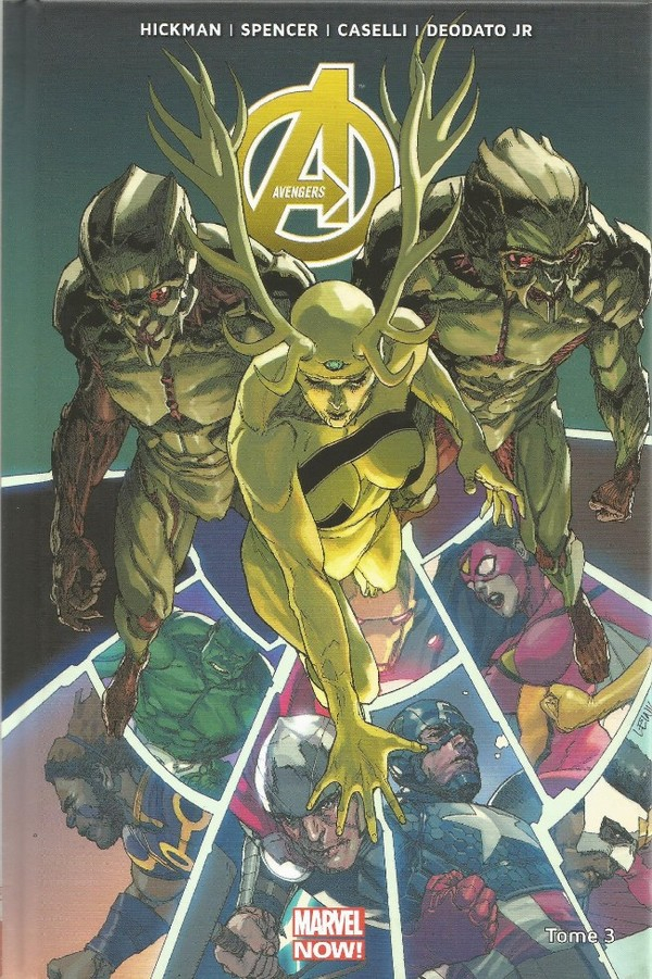 AVENGERS MARVEL NOW Tome 3 (VF)