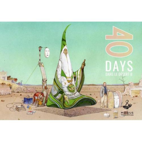 40 DAYS DANS LE DESERT B - MOEBIUS - VF