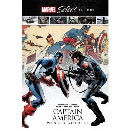 CAPTAIN AMERICA HC WINTER SOLDIER MARVEL SELECT (VO)
