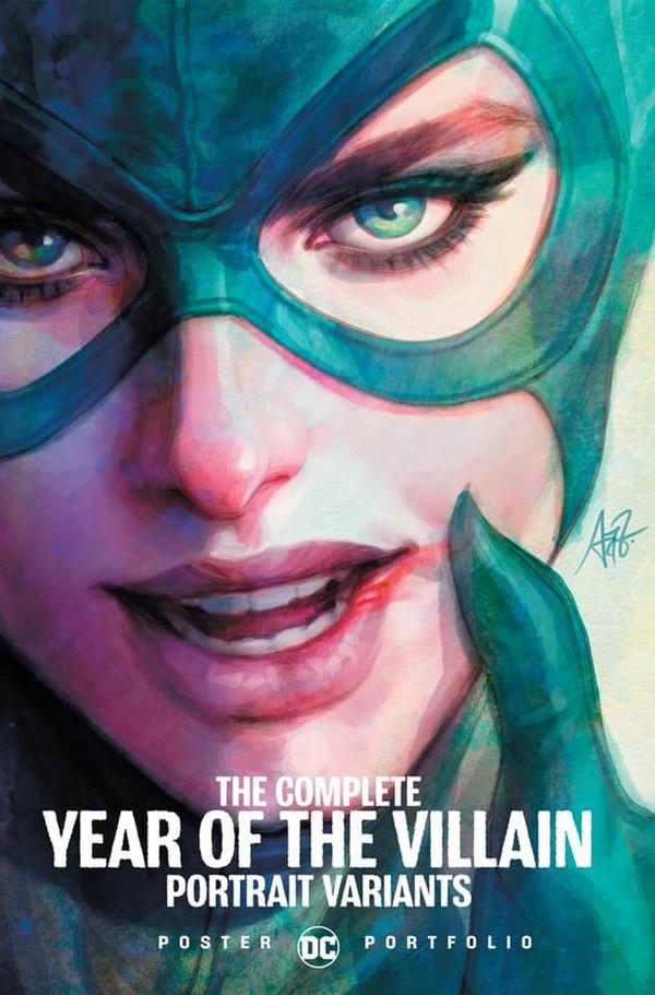 DC POSTER PORTFOLIO: YEAR OF THE VILLAIN TP (VO)