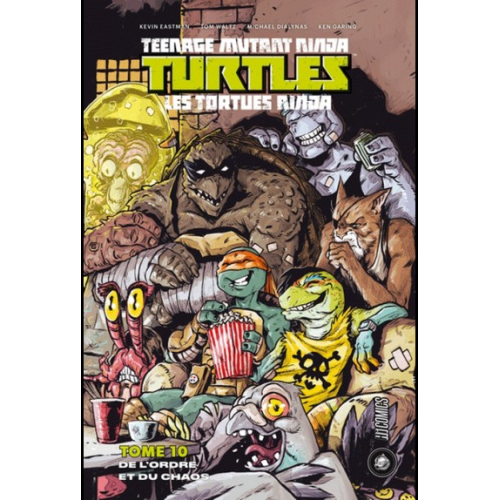 TMNT Tortues Ninja - Tome 10 (VF)