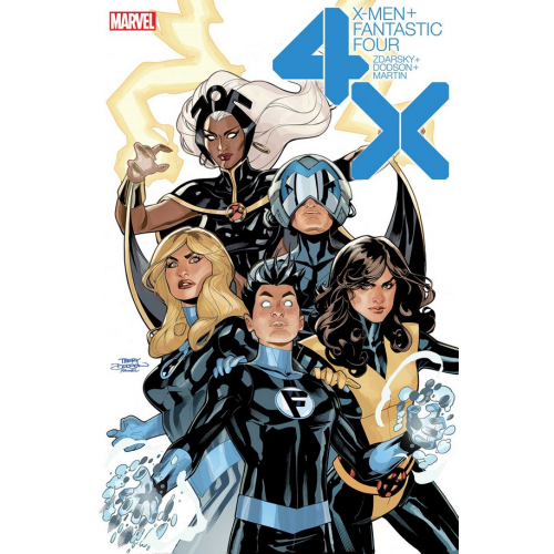 DF X-MEN FANTASTIC FOUR 1 Signé par Terry Dodson (VO)