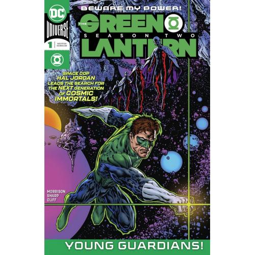 DF GREEN LANTERN SEASON 2 1 Signé par Liam Sharp (VO)