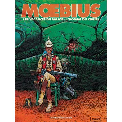 Mœbius Œuvres - Diptyque : Les Vacances du major et L'Homme du Ciguri (VF)