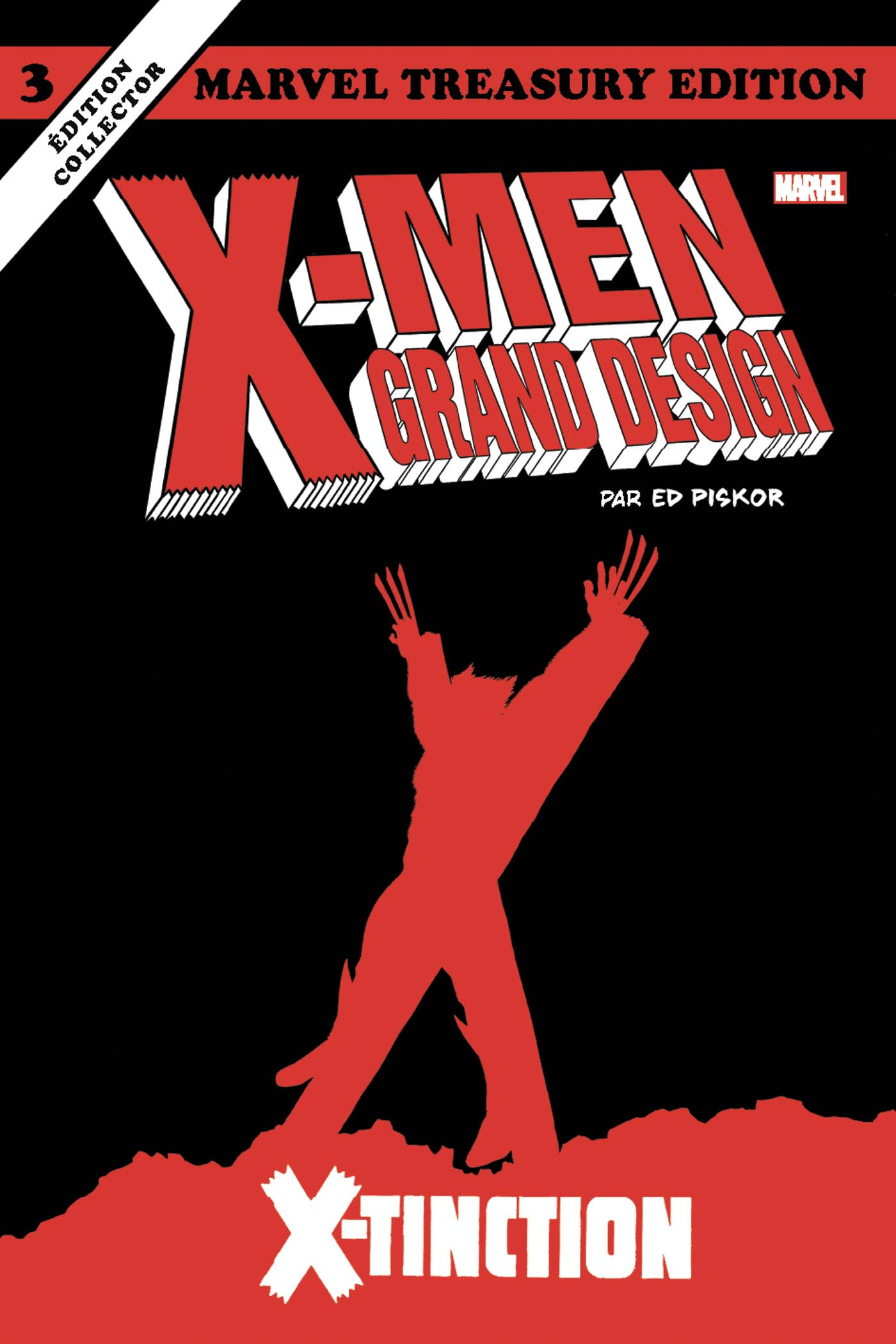 X-MEN GRAND DESIGN TOME 3 : X-TINCTION (VF)
