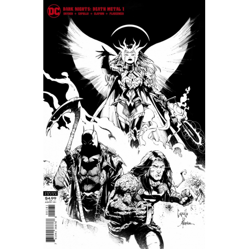 DARK NIGHTS DEATH METAL 1 (OF 6) MIDNIGHT PARTY VARIANT (VO)