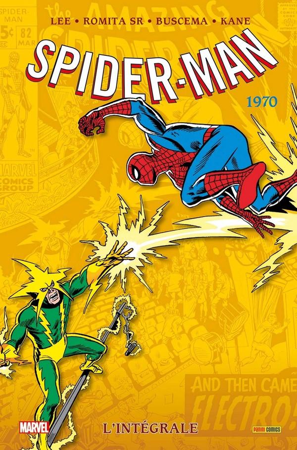 SPIDER-MAN : L'INTÉGRALE 1970 (NOUVELLE ÉDITION) (VF)