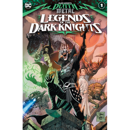 DARK NIGHTS: DEATH METAL LEGENDS OF THE DARK KNIGHTS 1 (VO)