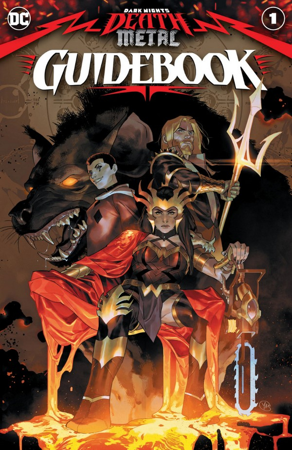 DARK NIGHTS: DEATH METAL GUIDEBOOK 1 (VO)