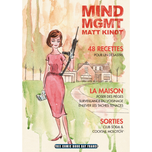 FCBD France 2020 – MONSIEUR TOUSSAINT LOUVERTURE – Mind MGMT (VF)