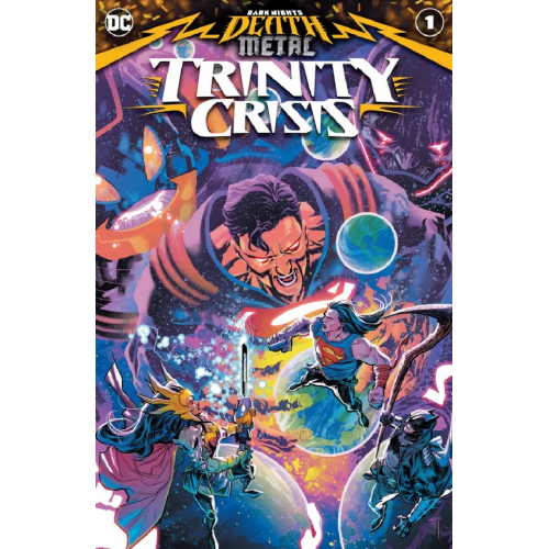 Dark Nights: Death Metal Trinity Crisis 1 (VO)