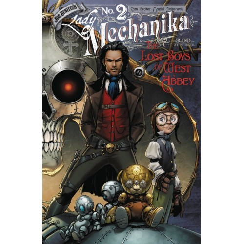 Lady Mechanika The lost boys of West Abbey 2 (of 2) Variant Cover