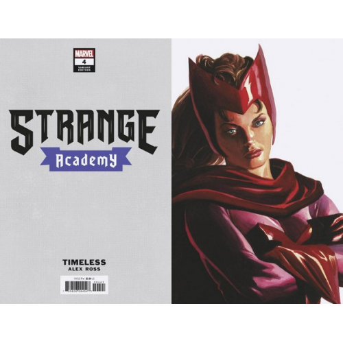 STRANGE ACADEMY 4 ALEX ROSS SCARLET WITCH TIMELESS VAR (VO)