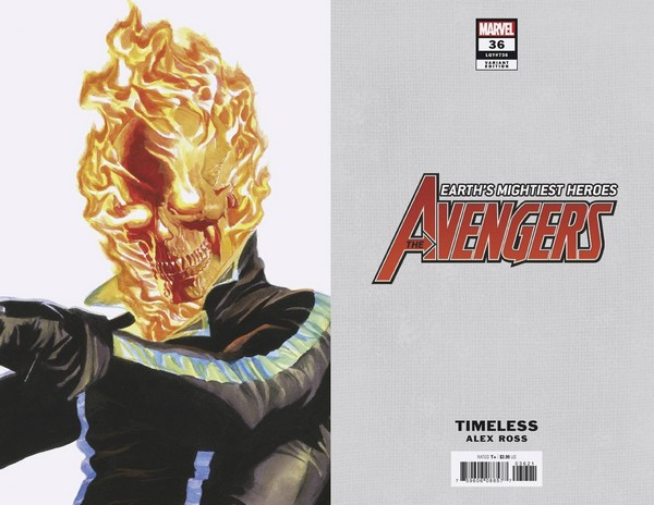 AVENGERS 36 ALEX ROSS GHOST RIDER TIMELESS VAR (VO)