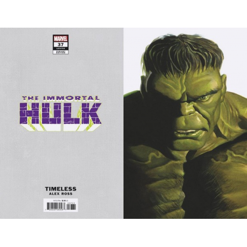 IMMORTAL HULK 37 ALEX ROSS HULK TIMELESS VAR (VO)