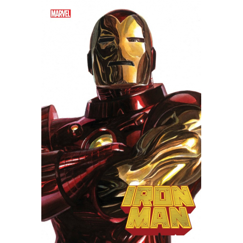 IRON MAN 1 ALEX ROSS IRON MAN TIMELESS VAR (VO)