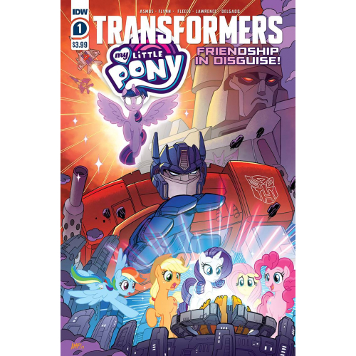 MY LITTLE PONY TRANSFORMERS 1 (OF 4) (VO)