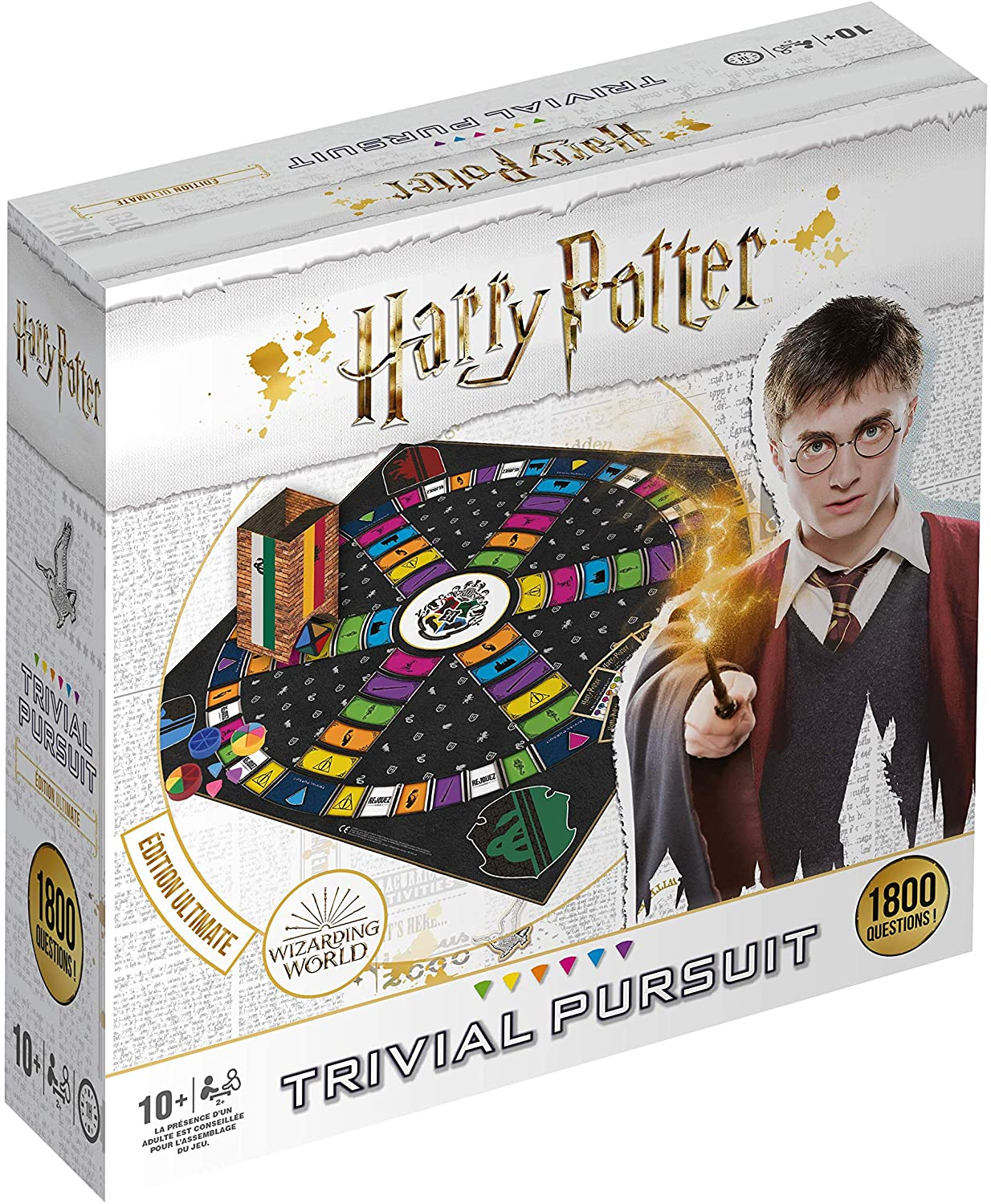 Harry Potter Carte du Maraudeur puzzle 1000 pièces