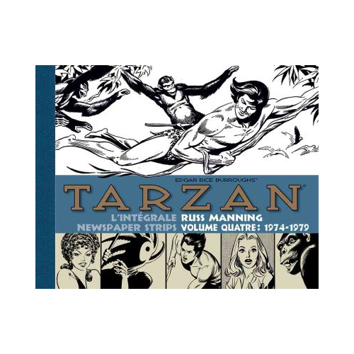 Tarzan : intégrale Russ Manning newspaper strips : Tome 3 1971-1974 (VF)