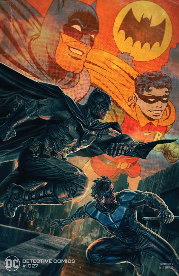 Detective Comics 1027 Batman And Nightwing Variant Cover By Lee Bermejo (VO)