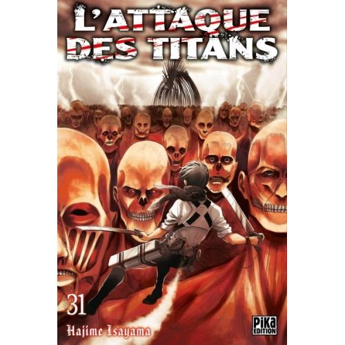 L'attaque des Titans Tome 31 (VF)