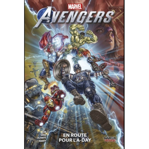 Marvel's Avengers Videogame TOME 1 : En route pour l'A-Day (VF)