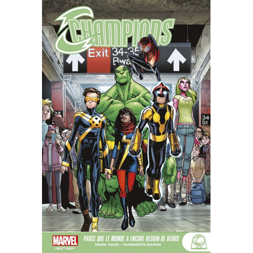 MARVEL YOUNG ADULT CHAMPIONS (VF)