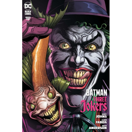 BATMAN : THREE JOKERS 1 FABOK PREMIUM VARIANT COVER B (VO)