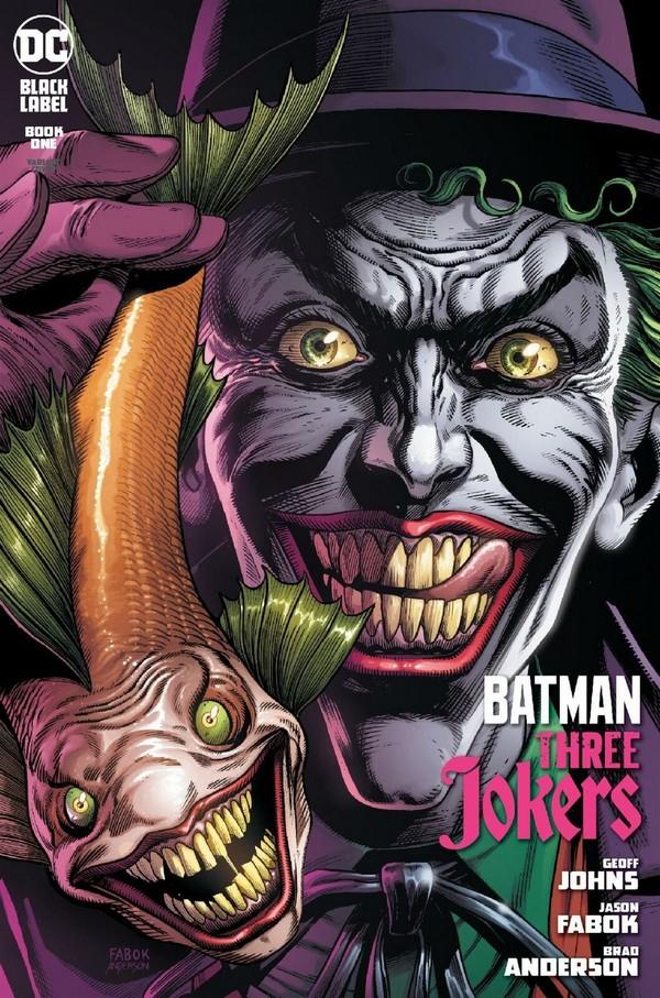 BATMAN : THREE JOKERS 1 FABOK PREMIUM VARIANT COVER B (VO)