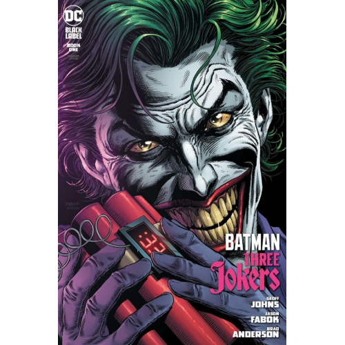 BATMAN : THREE JOKERS 1 FABOK PREMIUM COVER C (VO)