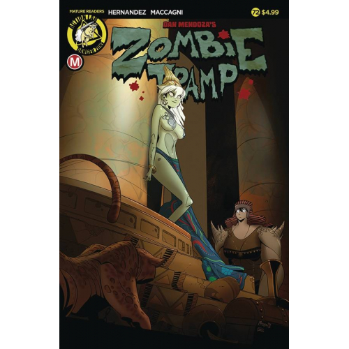 ZOMBIE TRAMP ONGOING 72 CVR A MACCAGNI (VO)