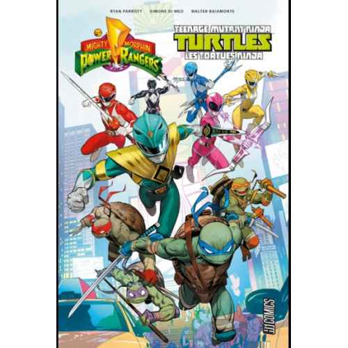 MIGHTY MORPHIN POWER RANGERS/TEENAGE MUTANT NINJA TURTLES TOME 1 (VF)
