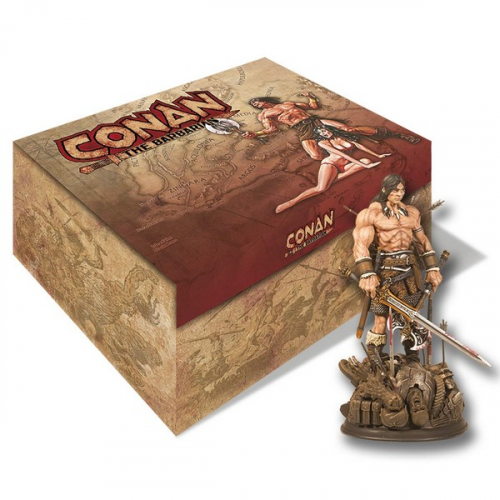 Coffret Collector : Tout l'art de Conan: Artbook avec Statue exclusive (VF)