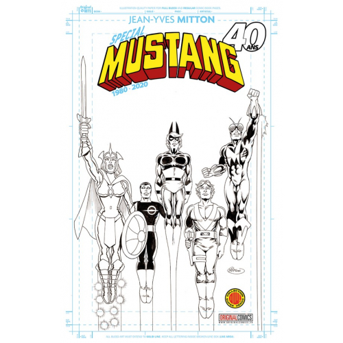 SPECIAL MUSTANG 40 ANS EDITION EXCLUSIVE ORIGINAL COMICS (VF)