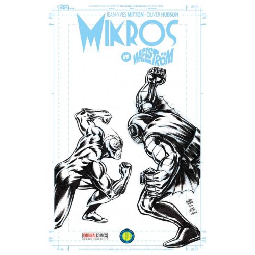MIKROS VS MAELSTROM EDITION EXCLUSIVE ORIGINAL COMICS (VF)