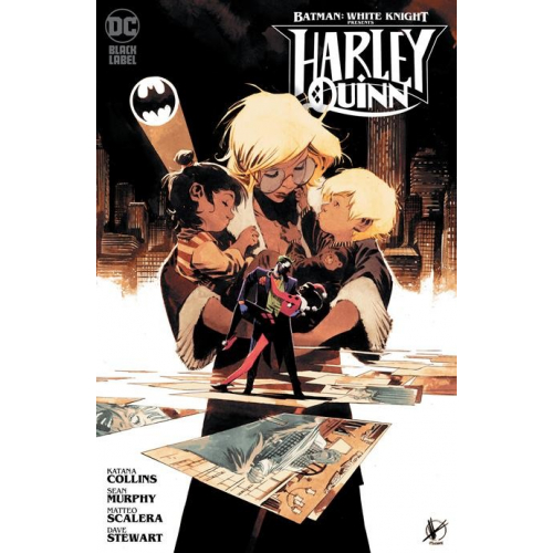 BATMAN : WHITE KNIGHT PRESENTS: HARLEY QUINN 1 variant cover MATTEO SCALERA (VO)