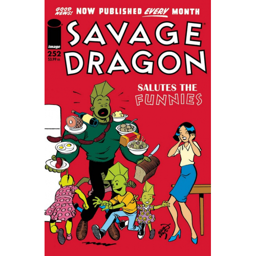 SAVAGE DRAGON 252 (VO)