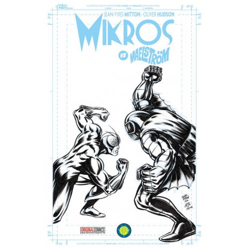 MIKROS VS MAELSTROM EDITION EXCLUSIVE ORIGINAL COMICS (VF) Signé par Oliver Hudson
