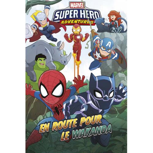 Marvel Super Hero Adventures : En route pour le Wakanda (VF)
