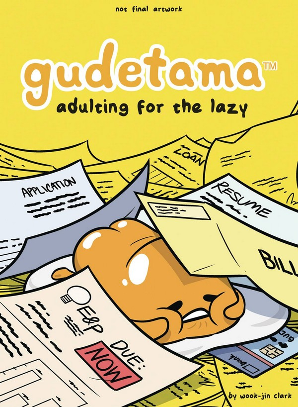 GUDETAMA HC ADULTING FOR THE LAZY (VO)