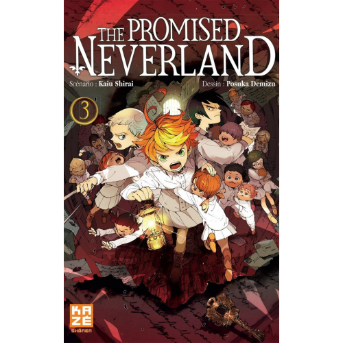 The promised Neverland Tome 3 (VF)