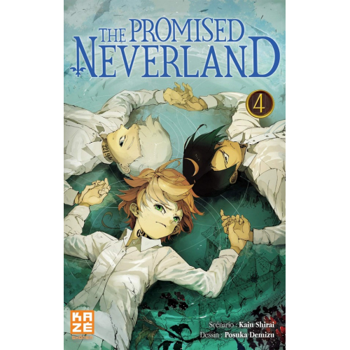 The promised Neverland Tome 4 (VF)
